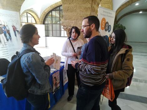 También en el Campus de Cádiz, el ADE apoyó las IX Jornadas de Orientación UCA