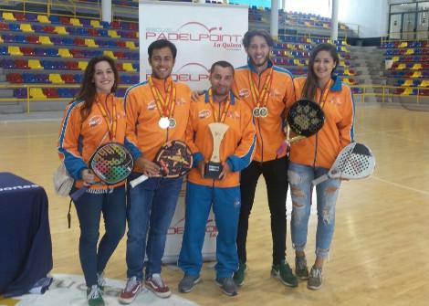 Dos oros para los alumnos UCA en el Nacional Universitario de Pádel