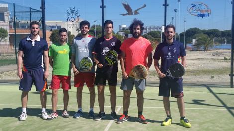 La pareja GALLARDO-MORALES, ganadora del Torneo Clausura de Pádel UCA