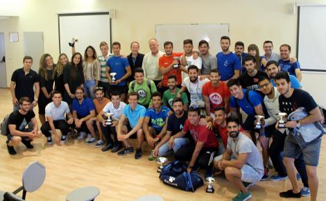 Entrega de premios de los Torneos Apertura UCA de Fútbol 7 y Fútbol Sala y el Maratón de Natación