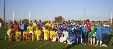 El Arcos CF y el Conil CF se midieron en el 9º Encuentro de Fútbol UCA