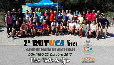 Gran Exito de participacion en la 2ª RutUCA en Bici Campus Bahia de Algeciras