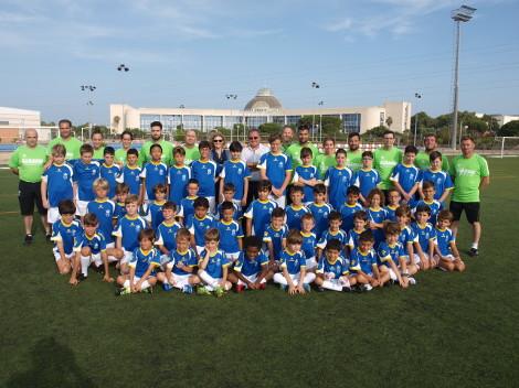 Arranca el IV Campus Infantil de Fútbol UCA en el Complejo Deportivo de Puerto Real