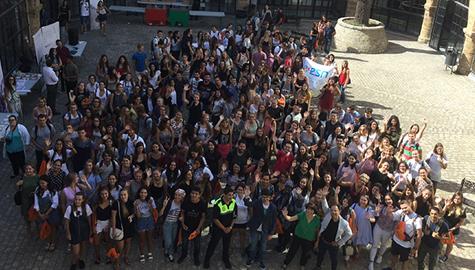 El ADE se suma a la bienvenida a estudiantes Erasmus y visitantes