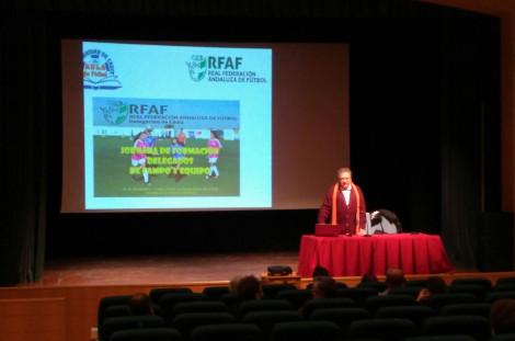 El Aula de Futbol en las Jornadas de Formacion de Delegados de Campo y de Equipo