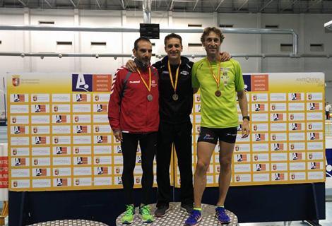 Pepe Medina, campeón de España de 800 m.l. en categoría M45