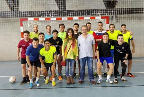 Celebrada la final de Fútbol Sala masculino del Torneo XXV Aniversario F. CC. Trabajo de la UCA