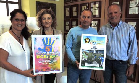 La UCA presenta la V edición del Campus de Fútbol y del Campamento Infantil de Verano 'UCAmpus'