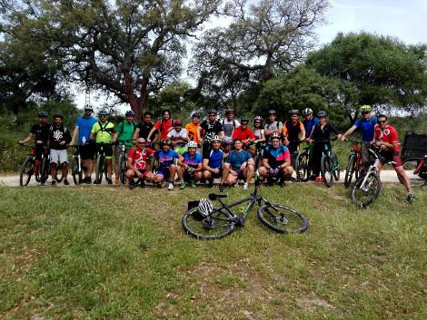 """Celebrada la """"1ª RutUCA en bici"""" en el Campus de Algeciras"""