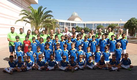 Broche de oro al IV Campus de Fútbol UCA en el Complejo Deportivo de Puerto Real