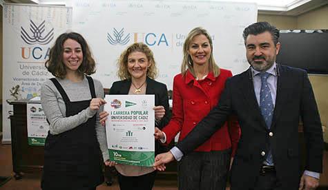 Universidad, Ayuntamiento y El Corte Inglés presentan la 'I Carrera Popular Universidad de Cádiz- Circuito Run Academy'