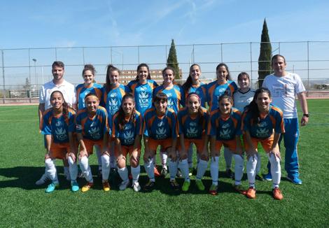 La selección de fútbol 7 femenino UCA se proclama subcampeona de Andalucía Universitaria