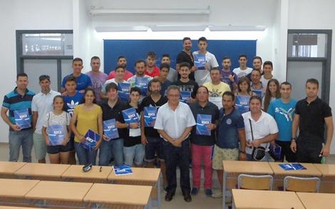 El Aula de Fútbol en la clausura del Curso Monitor de Fútbol y Fútbol Sala en Jerez