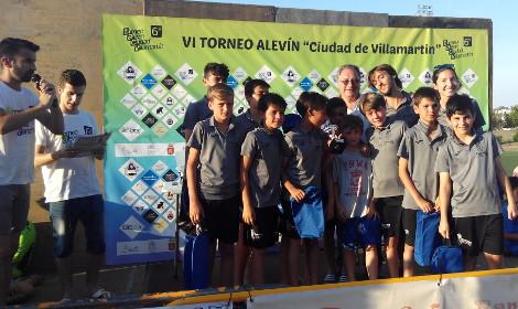 La Universidad de Cádiz y el Aula de Fútbol, presentes en el 6º Torneo Alevín de Villamartín
