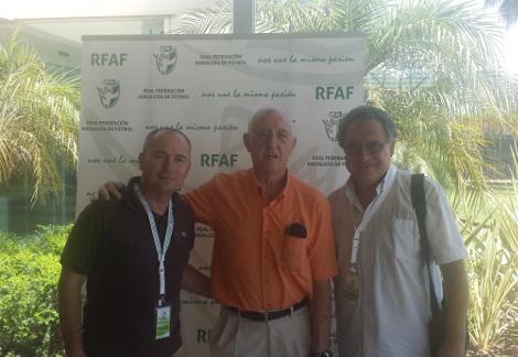 El Aula de Fútbol en la Asamblea General 2016 de la Federación Andaluza de Fútbol