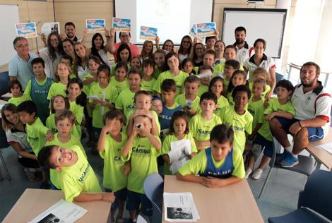 Acaba la penúltima semana del Campamento UCA, entre Cervantes e Italia