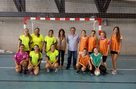 Celebrada la final de Fútbol Sala femenino del Torneo XXV Aniversario F. CC. Trabajo de la UCA