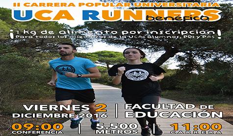 Más de un centenar de personas participarán en la II 'UCA Runners' en el Campus de Puerto Real