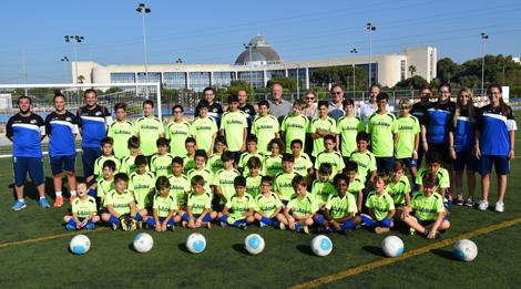 Arranca el V Campus Infantil de Fútbol UCA en el Complejo Deportivo de Puerto Real
