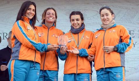 Medalla de oro para la alumna de la UCA Victoria Diez en el Campeonato de Andalucía Universitario de Cross