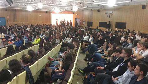 El Area de Deportes participa en la bienvenida a los 550 alumnos extranjeros entre Erasmus y visitantes del segundo cuatrimestre