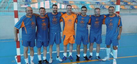 El equipo de fútbol sala del PAS de la UCA, campeón nacional