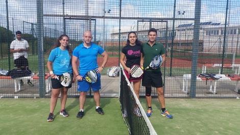 María Pereira y José Antonio Gomar campeones del Torneo UCA de Pádel Mixto