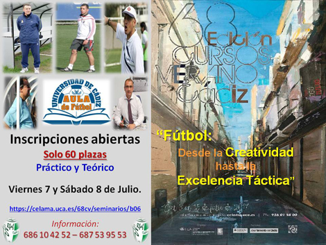 """Curso de Verano: """"Fútbol: Desde la creatividad hasta la excelencia táctica"""""""