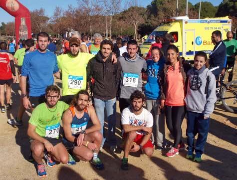 Francisco Rivero y Victoria Diez, ganadores del  XXVIII Campeonato de Campo a Través UCA