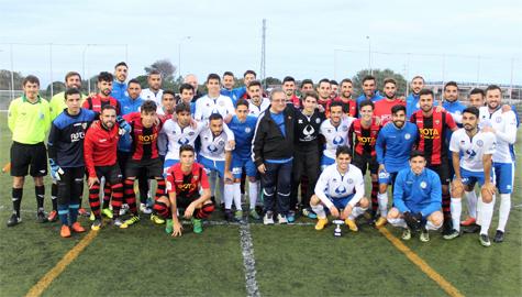 UD Roteña y Xerez Deportivo FC brillaron en el XI Encuentro de Fútbol Universidad de Cádiz
