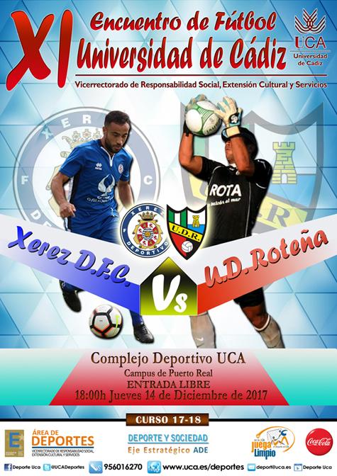 Presentación XI encuentro de fútbol Universidad de Cádiz