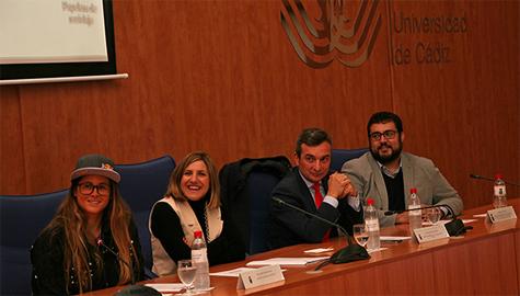 La UCA acoge la presentación de Gisela Pulido como imagen de la provincia de Cádiz