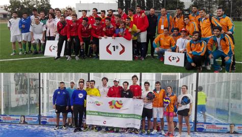 La UCA participa en el III Torneo Transfronterizo de Deporte Universitario en Évora (Portugal)