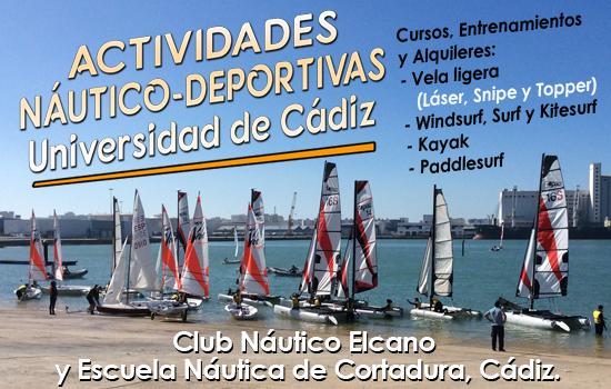 Promoción de actividades Náutico Deportivas Universidad de Cádiz para la comunidad UCA y Egresados.