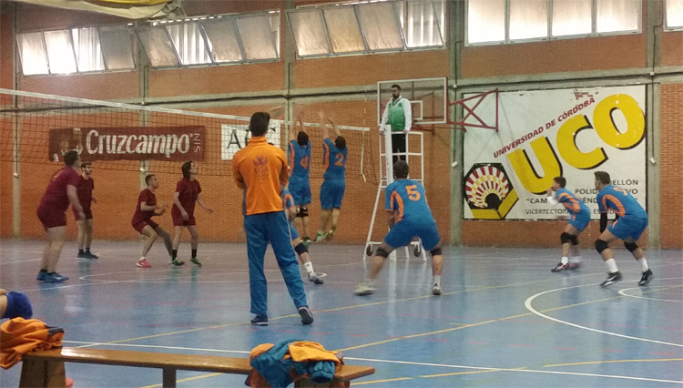 Triunfo de la Selección Masculina de Voleibol de la UCA en Fase Previa de los CAU