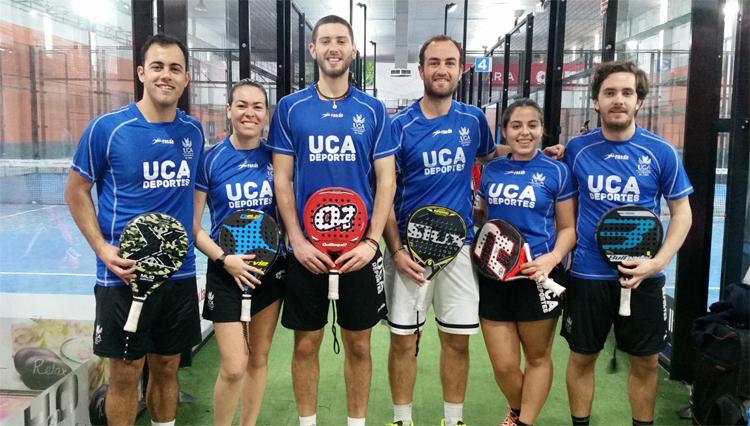 Plata y Bronce de la selección UCA de Pádel en los Campeonatos de Andalucía Universitarios