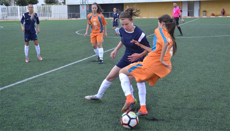 La selección de Fútbol 7 femenina de la UCA participó en los Campeonatos de Andalucía Universitarios