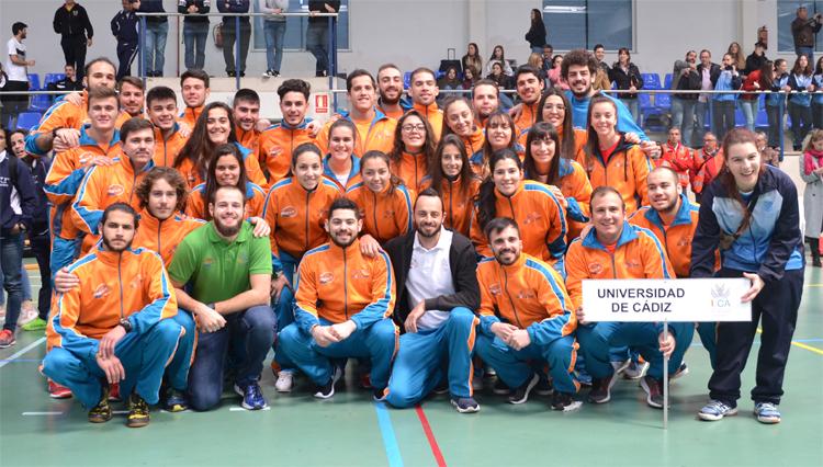 La UCA participó en la clausura de los Campeonatos de Andalucía Universitarios en Almería