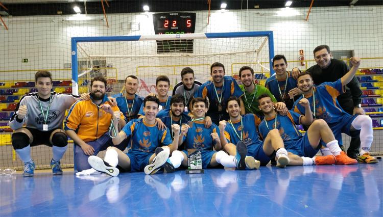 Bronce para el fútbol sala de la UCA en los Campeonatos de Andalucía Universitarios