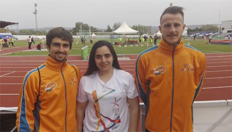Buena actuación de nuestros atletas en los Campeonatos de España Universitarios