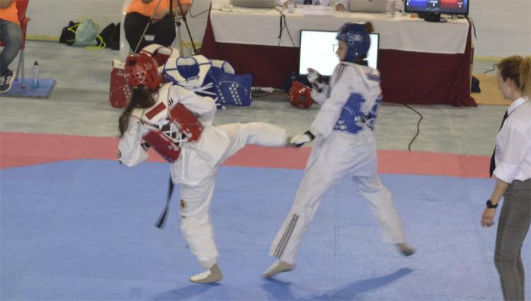La UCA participa en los Campeonatos de España Universitarios de Taekwondo