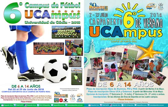 UCAmpus Infantil de Fútbol y UCAmpus infantil de Verano
