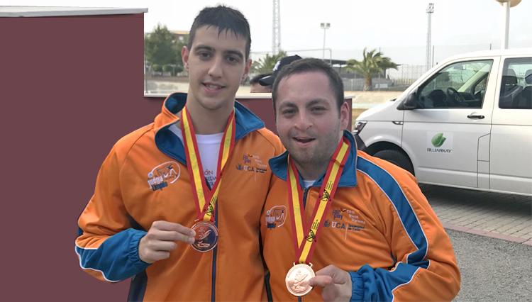 La UCA consigue dos medallas y un record de España en los Campeonatos de España Universitarios de Natación y Natación Adaptada