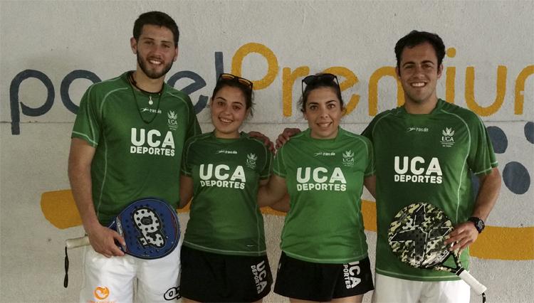 La UCA alcanza la plata en la modalidad masculina del Campeonato de España Universitario de Pádel