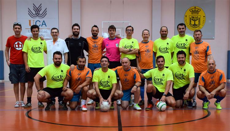 Disputado el II Torneo de Fútbol Sala entre la UCA y la APD Cádiz