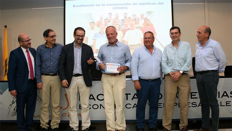 El Área de Deportes de la UCA, premio a la Excelencia en la consecución de objetivos del CPMCS