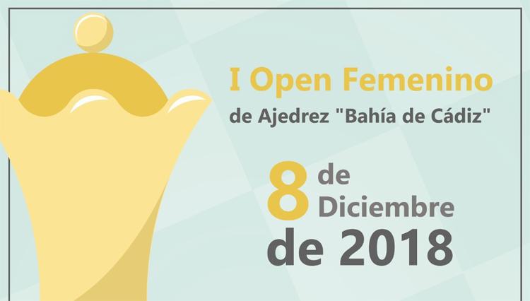 "La jugadora del club Oromana de Sevilla, Mariela Perera, ganadora del I Open femenino de Ajedrez ""Bahía de Cádiz""."