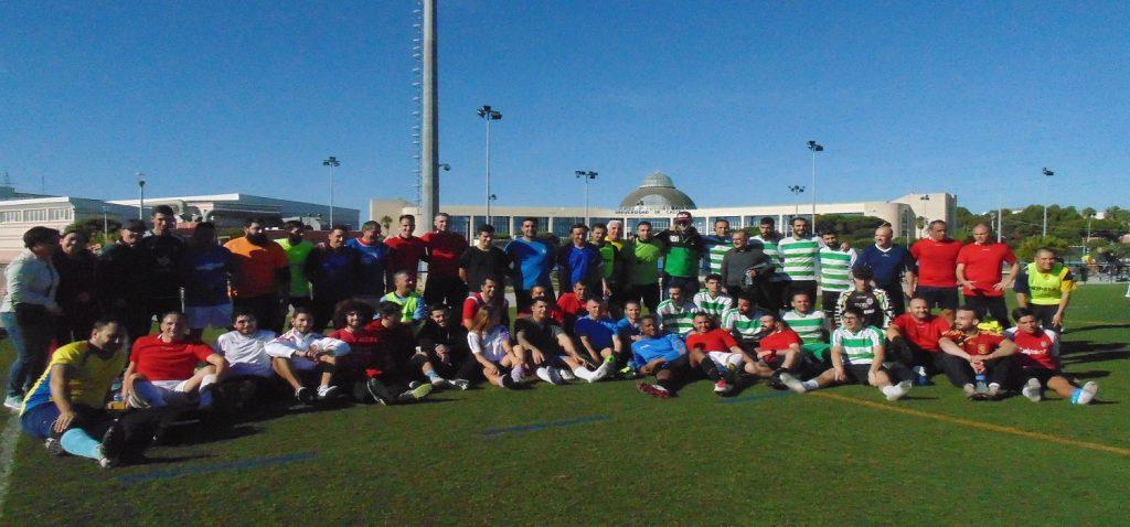 Celebrado con éxito de participación y recaudación el I Torneo Solidario de Fútbol 7