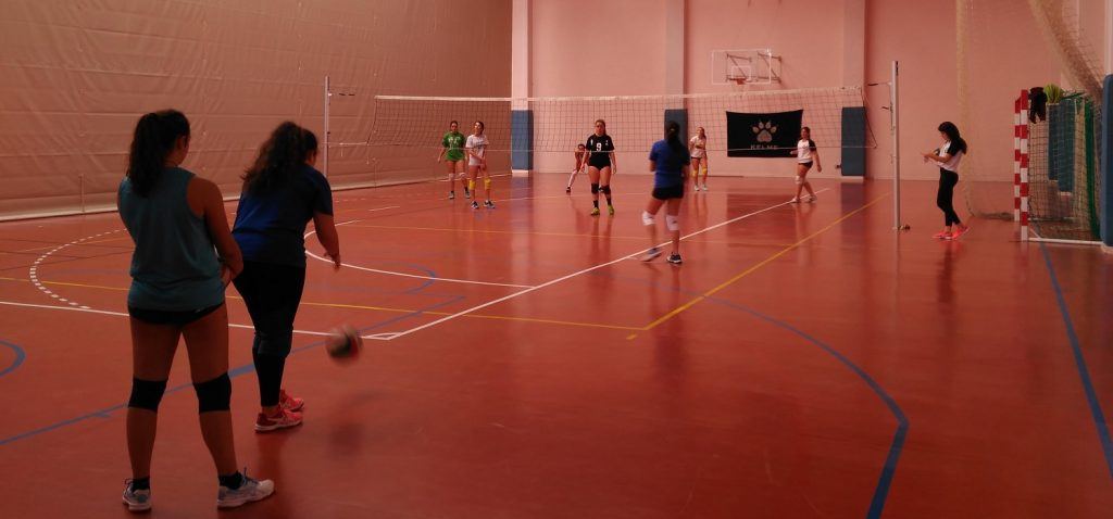 Encuentro amistoso de Voleibol femenino UCA – Club Voleibol Amigos Cádiz