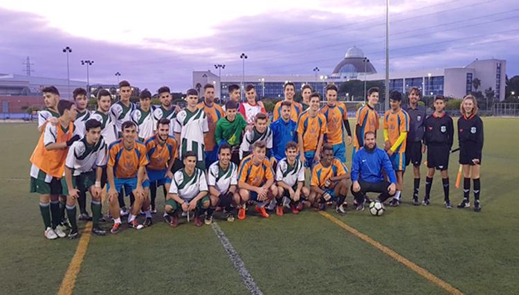 El Equipo UCA de Fútbol masculino comienza su preparación para el Campeonato de Andalucía Universitario